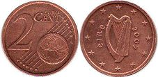 coin Ireland 2 cents 2007