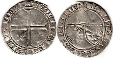 coin Flanders Double grosh ND (1409)