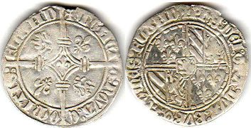 coin Flanders Double grosh ND (1419-1467)