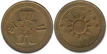 coin China 2 fen 1940