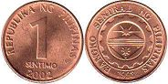 coin Philippines 1 centimo 2002