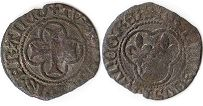 coin France denier without date (1515-1540)