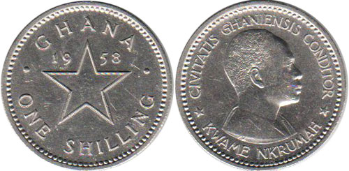 Ghana - online free coins catalog with photos and values
