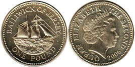 coin Jersey one pound 2006