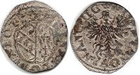 coin Lorraine denier without date (1608-1624)