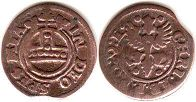 coin East Frisia Ertgen (1/4 stuber) ND (1665-1708)