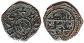 coin Sicily 1 follaro ND (1189-1194)