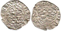 coin France double denier 1322