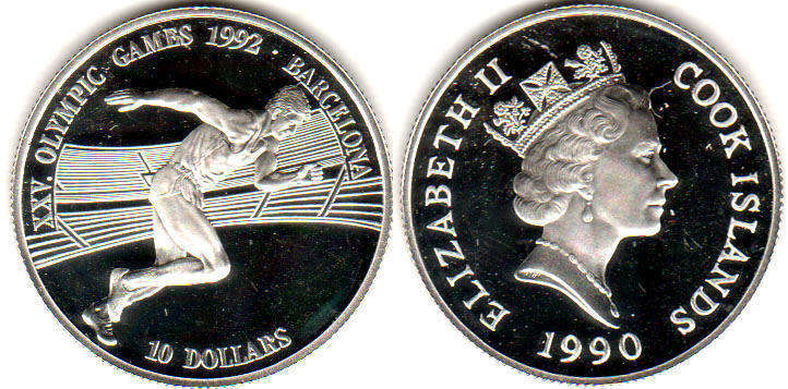 Cook Islands - online free coins catalog with photos and