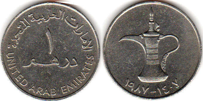 United Arad Emirates Uae Coins Catalog