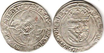 coin Burgundian Netherlands stuver without date (1496-1499)
