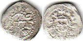 coin Livonia pfennig without date (1430-1465)