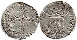 coin France sol 1571
