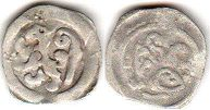 coin Passau pfennig without date (1370-1440)