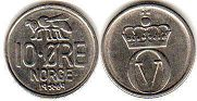 coin Norway 10 ore 1969