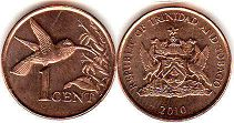 coin Trinidad and Tobago 1 cent 2010