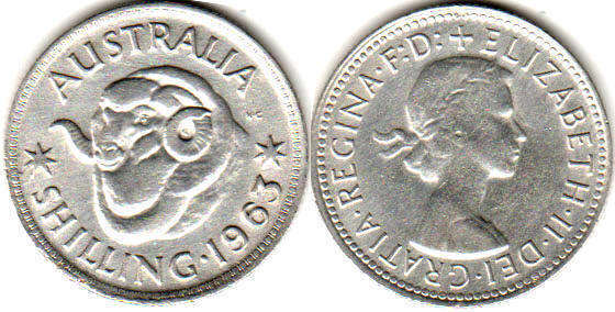 Australia - online free coins catalog with photos and values