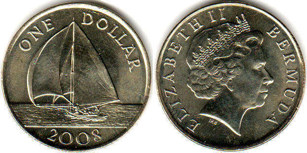Bermuda - online free coins catalog with photos and values  Bermuda