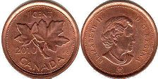 canadian coin 1 cent 2010