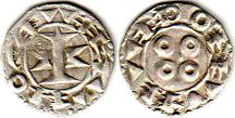 coin Melgueil denier ND (11-13 century)