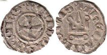 coin Athens denier ND (1287-1308)