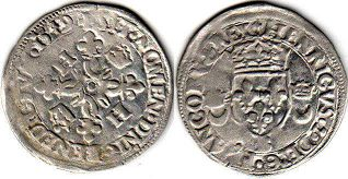 coin France douzain 1549