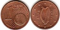 coin Ireland 1 euro cent 2008