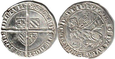 coin Flanders Double gros ND (1389)