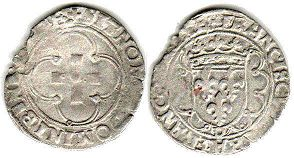 coin France douzain 1541