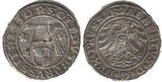 coin Prussia solidus 1530
