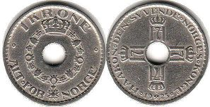 coin Norway 1 krone 1925