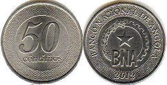 coin Angola 50 centimes