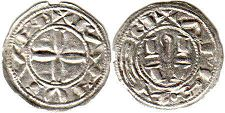 coin Albi denier ND (12-13 c.)