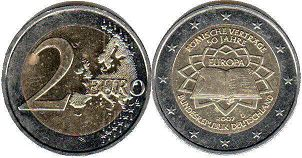 coin Germany 2 euro 2007