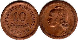 coin Portugal 10 centavos 192
