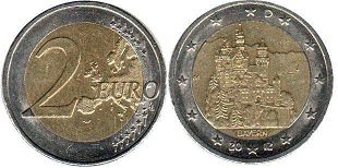 coin Germany 2 euro 2012