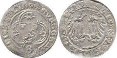 coin Ansbach 1/2 shilling 1495-1515
