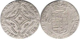 coin Spanish Netherlands stuver 1619