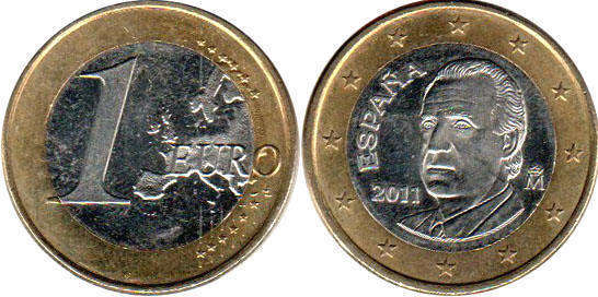 1 Euro Coins Catalog With Images And Values Coins Prices Euro Currency