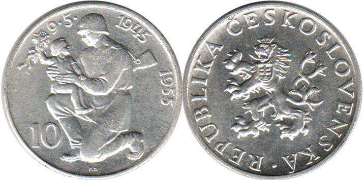 Czechoslovakia - online free coins catalog with photos and
