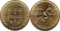 coin Portugal 1 escudo 1982