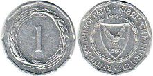 coin Cyprus 1 mil 1963