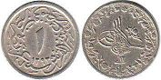 coin Egypt 1 ushr-al-qirsh