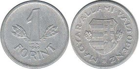 coin Hungary 1 forint 1946
