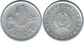 coin Hungary 1 forint 1952