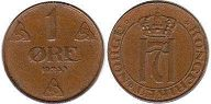 coin Norway 1 ore 1939