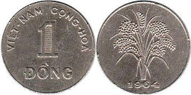 coin South Viet Nam 1 dong 1964