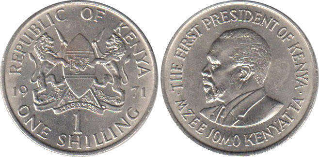 Kenya - online free coins catalog with photos and values