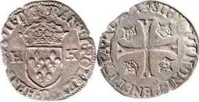 coin France douzain 1576