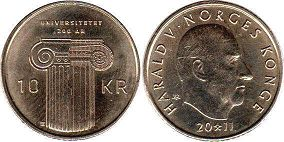 coin Norway 10 kroner 2011